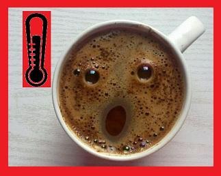 Температура воды для кофе