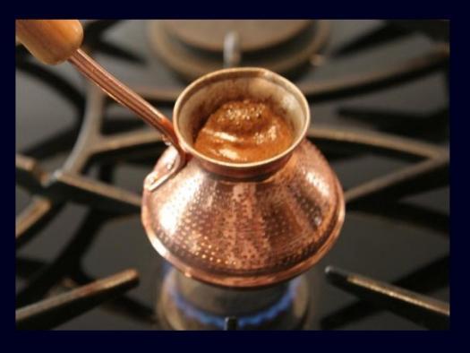 Варим кофе в турке