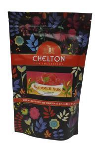 Чай черный с зеленым с ароматом малины Chelton Summer Kiss 90 г (52952)