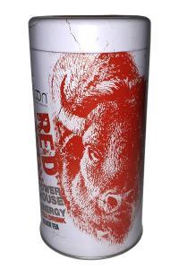 Чай черный с ароматом Ред булл Tarlton Red Bison 100 г в металлической банке
