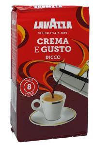 Кофе молотый Lavazza Crema e Gusto Ricco 250 (23)