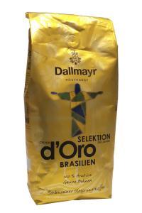 Кофе зерновой Dallmayr Crema d'Oro Selektion des Jahres Brasilien 1 кг