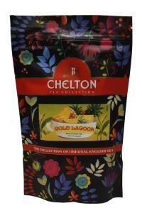 Чай черный с зеленым с ароматом ананаса Chelton Gold Lagoon 90 г (52953)