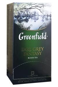 Чай черный с цедрой цитрусовых и ароматом бергамота Greenfield  Earl Grey Fantasy 100 г  (698)