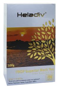 Чай черный среднелистовой с типсами Heladiv FBOP Superior 100 г (1612)