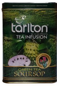 Чай зеленый с саусепом Tarlton Green tea Soursop 250 г  (52185)