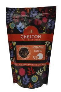 Чай зеленый с ароматом апельсина и клубники Chelton Orange Lover 90 г (52948)