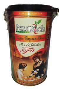 Чай зеленый с ароматом саусепа и персика и лепестками цветов Tarlton Танец Королевы 300 г в металлической банке