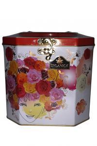 Zilanica. Make up Box (Rose). Черный чай Super Pekoe, 400г, ж/б