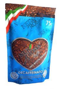 Кофе растворимый Nero Aroma Decaffeinato  без кофеина 75 г (52123)