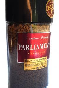 Кофе растворимый Parliament Espresso 100 г в стеклянной банке (52560)