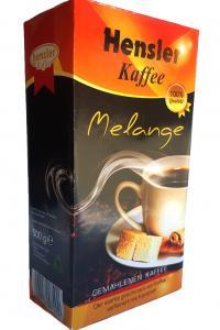 Кофе молотый с ароматом карамели Hensler Melange 500 г (52100)