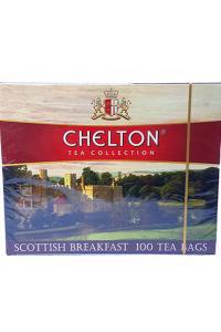 Чай черный в пакетиках Chelton Шотландский завтрак 100 шт х 1,5 г