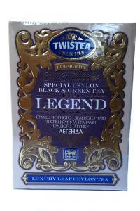 Чай черный с зеленым со специями и травами Twistea Legend 100 г