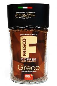 Кофе растворимый Fresco Greco 95 г в стеклянной банке (53132)