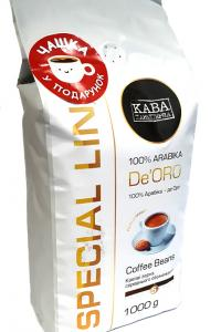 Кофе в зернах Кава Характерна SL De'ORO 1 кг (52827)