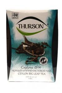 Чай черный крупнолистовой Thurson Ceylon OPA 100 г (52882)