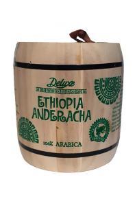 Кофе зерновой Deluxe Ethiopia Anderacha Espresso 250 г в деревянном боченке