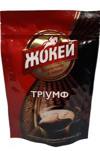 Кофе растворимый Жокей Триумф  65 г (543)