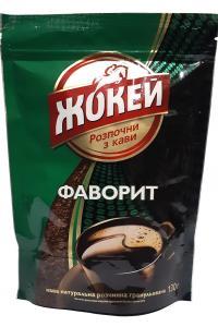 Кофе растворимый Жокей Фаворит 130 г (546)
