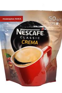 Кофе растворимый Nescafe Classic Crema 50 г