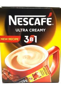 Nescafe. Ultra Creamy. Растворимый кофейный напиток 3в1 в стиках, 20 шт. в упаковке