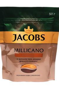 Кофе растворимый с добавлением молотого Jacobs Millicano Espresso 50 г