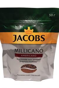 Кофе растворимый с добавлением молотого Jacobs Millicano Americano 50 г