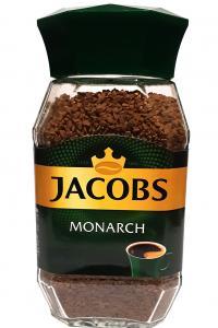 Кофе растворимый Jacobs Monarch 190 г в стеклянной банке