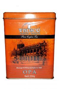 Чай черный крупнолистовой Windsor ОРА 250 г в металлической банке