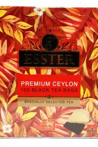 Чай черный в пакетиках Esster Premium Ceylon 100 шт х 2 г