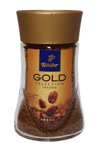 Кофе растворимый Tchibo Gold Selection 50 г в стеклянной банке (357)