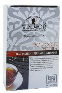 Чай черный мелколистовой с типсами Windsor BOP with Tips 100 г (53347)