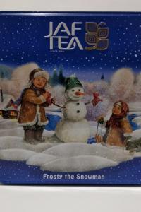 """Jaf Tea """"Frosty  The Snowman"""", черный чай, 40 г крупный лист + 40 г средний лист, ж/б"""