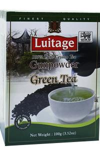 Чай зеленый Luitage Green Tea Gunpowder 100 г (53090)