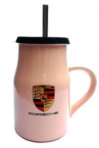 Кружка с крышкой и трубочкой Great Coffee  Авто-Итали 400 мл  (52998)