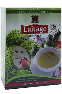 Чай зеленый с имбирем и ананасом в пакетиках Greenfield Tropical Marvel 25 шт х 2 г