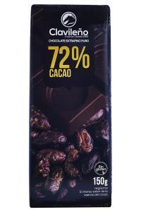Шоколад Clavileno Y frutas del bosque Черный 70% с лесными ягодами и заменителем сахара 100 г (52894)