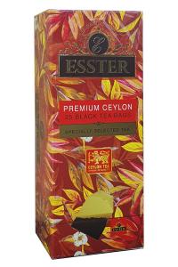 Чай черный с ароматом персика в пакетиках Азерчай Персик 25 шт х 1,8 г (1808)