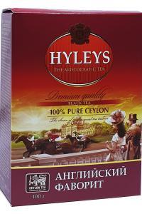 Чай черный среднелистовой Hyleys Английский фаворит 100 г