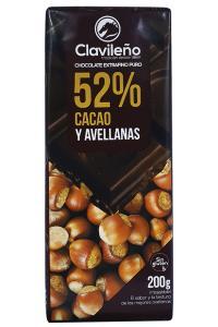 Шоколад Clavileno Sin azucares anadidos Черный 85% без сахара со стевией 100 г (52893)