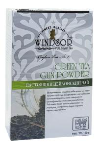 Чай зеленый Windsor Green Tea Gun Pouder 100 г (53164)