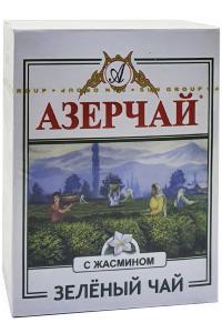 Чай зелений з жасмином Азерчай Зелений чай з Жасмином 100 г (52194)