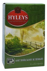 Чай зеленый с мятой Hyleys Зеленый чай с мятой 100 г  (660)