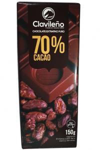 Шоколад Clavileno Черный Горький 70% 150 г  (52347)