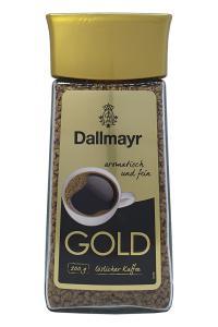 Кофе растворимый Dallmayr gold 200 г в стеклянной банке (1701)