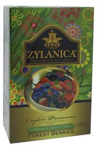 Чай зеленый с ароматом лесных ягод Zylanica Forest Berries 100 г (51929)