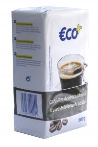 Кофе молотый Eco+ Cafe Pur Arabica Moulu 500 г