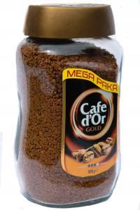 Кофе растворимый Cafe D'or Gold 300 г в стеклянной банке