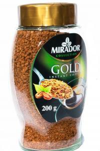 Кофе растворимый Mirador Gold Instant 200 г в стеклянной банке